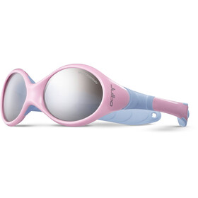 Julbo Looping II Spectron 4 Sunglasses Baby 12-24M Pink/Blue-Gray Flash Silver